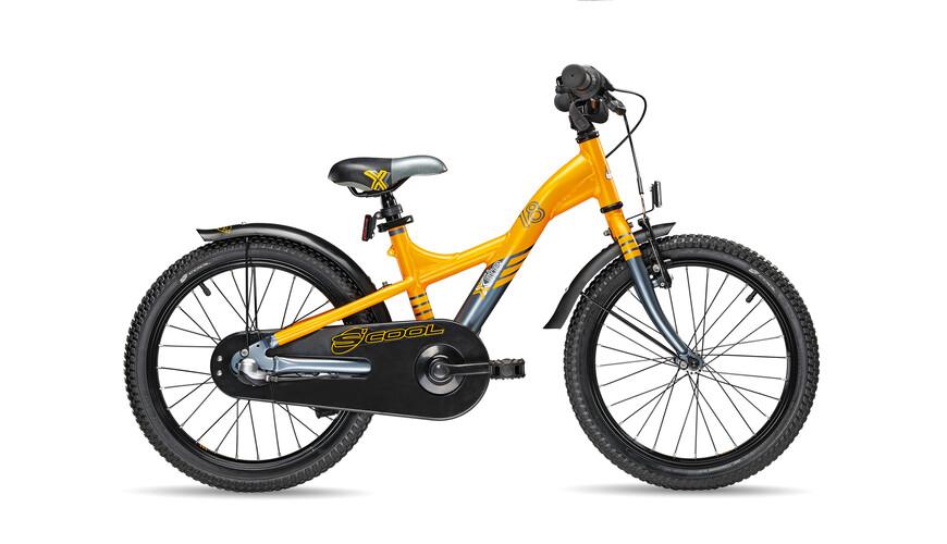 s'cool XXlite 18-3 - Vélo enfant - gris/orange